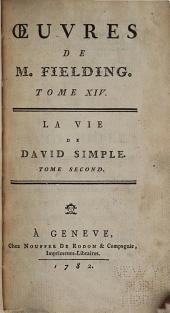 Oeuvres de M. Fielding: La vie de David Simple