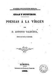 Odas y suspiros: poesias á la Vírgen