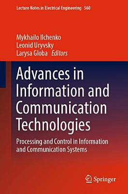 Advances in Information and Communication Technologies PDF
