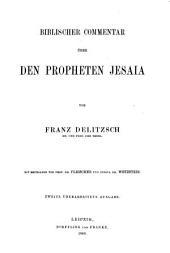 Biblischer Commentar über den Propheten Jesaja