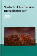 Yearbook of International Humanitarian Law   2007 PDF