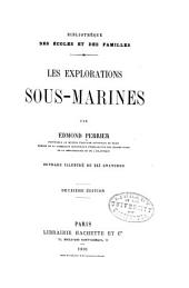 Les explorations sous-marines