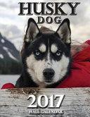 Husky Dog 2017 Wall Calendar  UK Edition