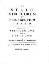 De statu mortuorum et resurgentium liber.