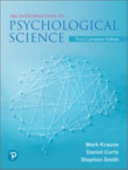 Revel for an Introduction to Psychological Science  Third Canadian Edition    Print Offer PDF