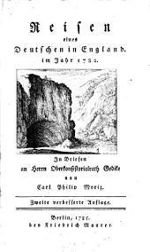 Reisen eines Deutschen in England im Jahr 1782, in Briefen