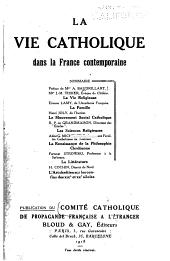 La vie catholique dans la France contemporaine...