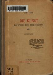 Die Kunst: ihr Wesen und ihre Gesetze, Band 2
