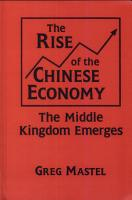 The Rise of the Chinese Economy PDF