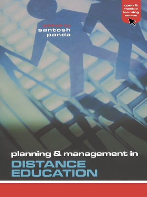 Planning and Management in Distance Education PDF