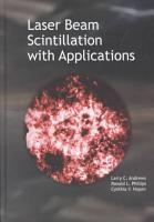 Laser Beam Scintillation with Applications PDF