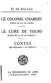 Le colonel Chabert: scènes de la vie privee