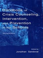 Handbook of Crisis Counseling  intervention  and Prevention in the Schools PDF
