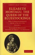 Elizabeth Montagu  the Queen of the Bluestockings PDF