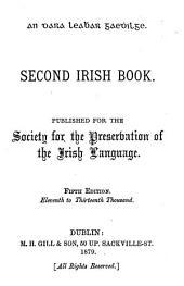 An cheud (-dara) leabhar gaedhilge. First (-Third) Irish book