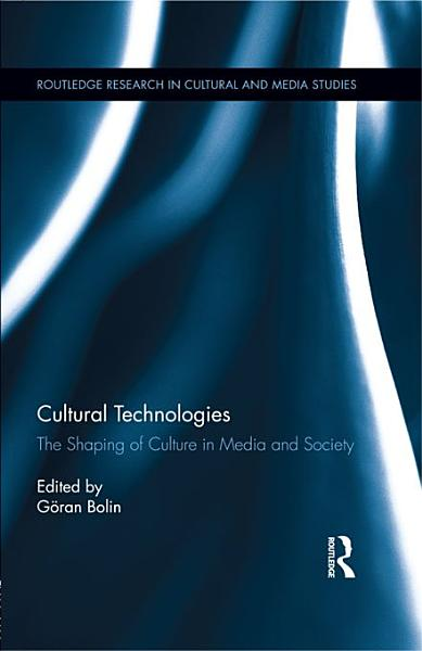 Cultural Technologies