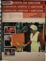 Alimentaci  n  Nutrici  n Y Agricultura PDF