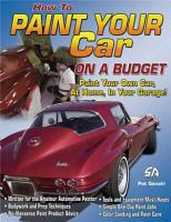 How to Paint Your Car on a Budget PDF