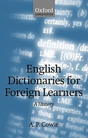 English Dictionaries for Foreign Learners PDF