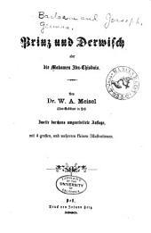 Prinz und Derwisch, oder, Die Makamen Ibn-Chisdais