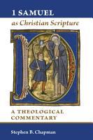1 Samuel as Christian Scripture PDF