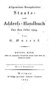 Allgemeines Europäisches Staats- und Address-Handbuch für das Jahr ..: Teil 4