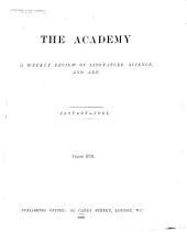 The Academy and Literature: Volume 17