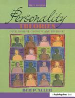 Personality Theories PDF