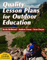 Quality Lesson Plans for Outdoor Education PDF