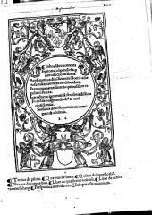 In hoc libro contenta Epitome, compendiosaque introductio in Libros Arithmeticos diui Seuerini Boetij
