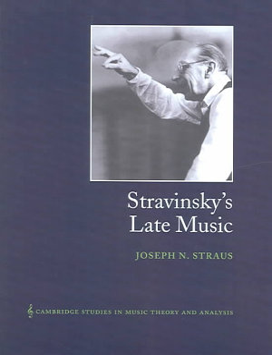 Stravinsky s Late Music PDF