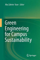 Green Engineering for Campus Sustainability PDF