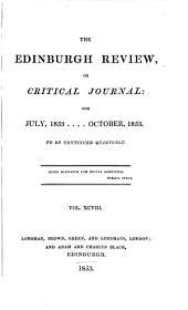 The Edinburgh Review: Or Critical Journal, Volume 98