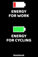 Energy for Work - Energy for Cycling Notebook