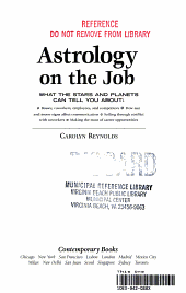 Astrology on the Job PDF