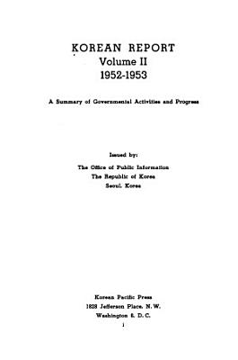 Korean Reports PDF