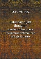 Saturday night thoughts PDF