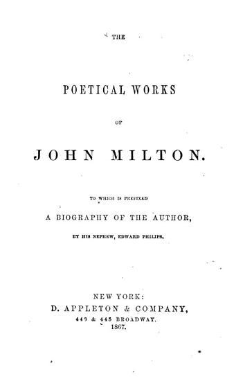Poetical Works PDF