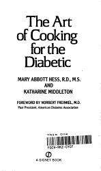 The Art Of Cooking For The Diabetic Book PDF