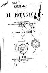 Compendio di botanica ordinato specialmente alla conoscenza delle piante medicinali più comuni di V. Tenore e G. A. Pasquale