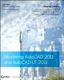 Mastering AutoCAD 2011 and AutoCAD LT 2011 PDF