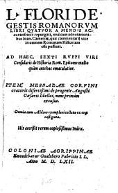 De gestis Romanorum: libri 4