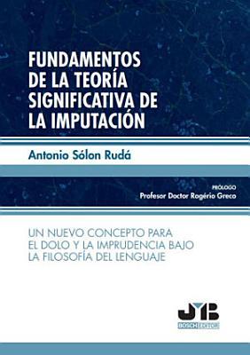 Fundamentos de la teor  a significativa de la imputaci  n PDF