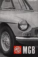 MG MGB Tourer (GHN4) and GT (GHD4) Handbook