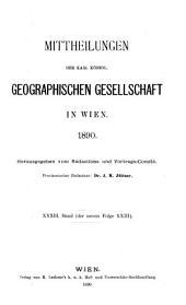 Mitteilungen: Band 33