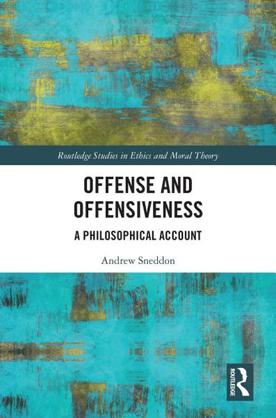 Download Offense and Offensiveness Book