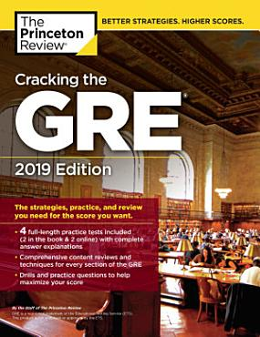 Cracking the GRE with 4 Practice Tests  2019 Edition PDF