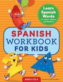 Spanish Workbook for Kids