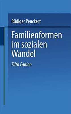 Familienformen im sozialen Wandel PDF
