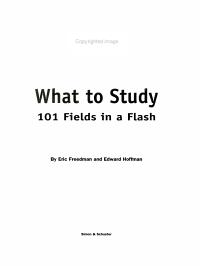 What to Study PDF